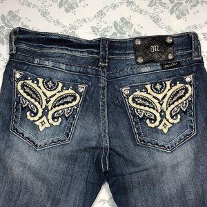 Miss me jeans sz 28 x 31.5 boot